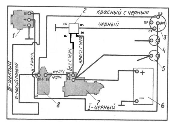 рисунок 3 схема соединения на